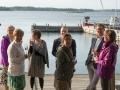 Solglimtar på Penilla, Anna, Lena, Janne, Eva och Monika