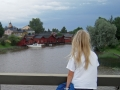 Själva ån i Borgå