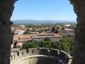 Utsikt från gammalt torn