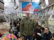 Erik och Lotta i tunnelbanan