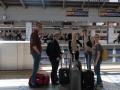 I väntan på Shinkansen mot Kyoto