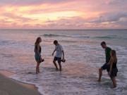 Kubansk solnedgång