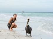 Ylva och pelikanis