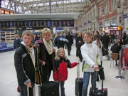 Familjen på Waterloo Station