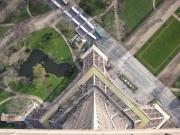 Eiffeltornet från ovan