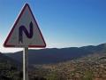 Kurvig väg