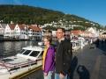 Framme i i ett strålande Bergen