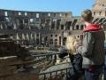 Colosseum från insidan