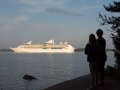 Shipspotting i Furusundsleden