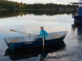 Båtluffning vid Grinda