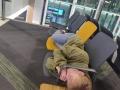 Övernattning  på Istanbuls flygplats