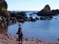 St Abbs med strand