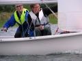 Magnus och Uffe seglar