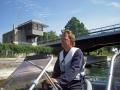 Lemströms kanal på väg mot Mariehamn
