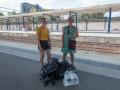 I väntan på tåg i Flemmingsberg