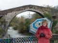 """Romersk"" bro i Cangas de Onis"