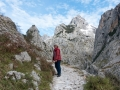 Anna på vandring i Pico de Europa