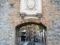 Pilgrimsvägen in i Pamplona