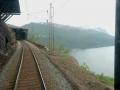 Tåget utan svindel på väg hem från Narvik
