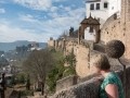 Stadsmuren i Ronda