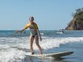 Ylva surfar
