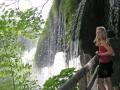 Ylva och vattenfall