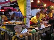 Kul mat på torget i Poznan