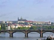 Pragborgen och Vltava
