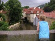 Vattenhjul i Vltava