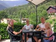 Kaffe, cola och persikor i Vievola