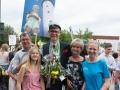 Erik med familjen