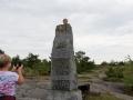 Monumentfoto på Kumlnge