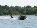 Test av måsbåt som dragdjur för wakeboard