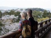 Utsikt från portalen vid Nanzen-ji