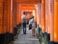 Fushimi-Inaris vindlande gångar