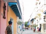 En gränd till i Havanna