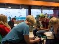 Kul (?) på flygplatsen