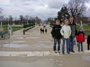 På väg mot Place de la Concorde