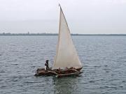 Autentisk båt att fiska med