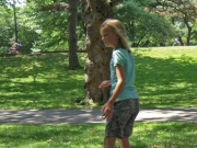 Longboard i Central Park
