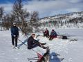 Termosen töms på väg ner i Ösjödalen