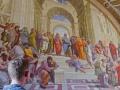 Erik och Platon i Vatikanmuseet