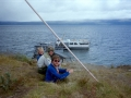 Båten mot Ritsem