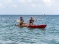 Lotta & Ylva kör kanot