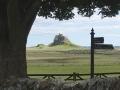 Lindisfarnes slott på avstånd