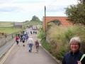 På väg till Lindisfarnes slott