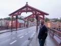 Känd bro i Troindhiem