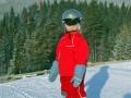 På snowboard